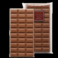 Tablettes de chocolat lait