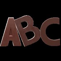 Alphabet noir