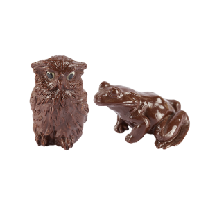 Animaux chocolat noir