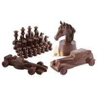 Divers en chocolat noir